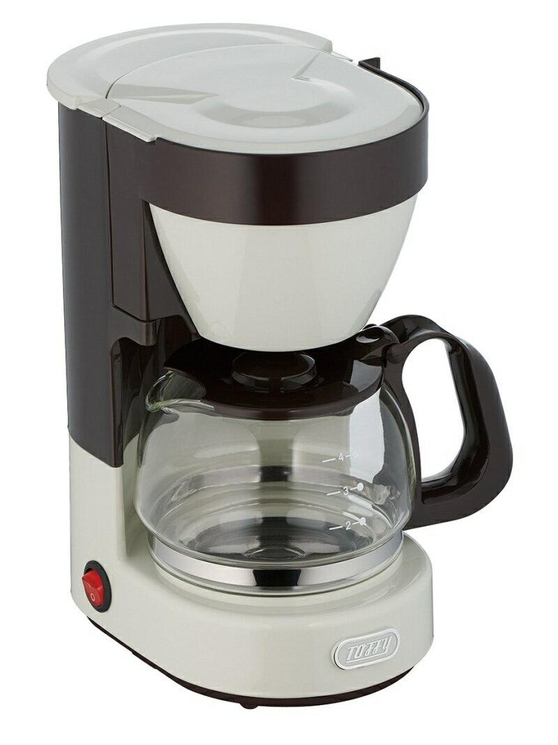 Toffy Toffy (トフィー)/Toffy 4カップ コーヒーメーカー K-CM1 ホワイト 212キッチンストア 生活雑貨【送料無料】