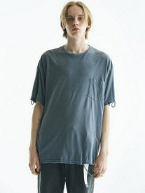 【SALE/40%OFF】VICTIM BIG DAMEGE TEE ヴィクティム カットソー Tシャツ ネイビー ブラック ベージュ グリーン【RBA_E】【送料無料】