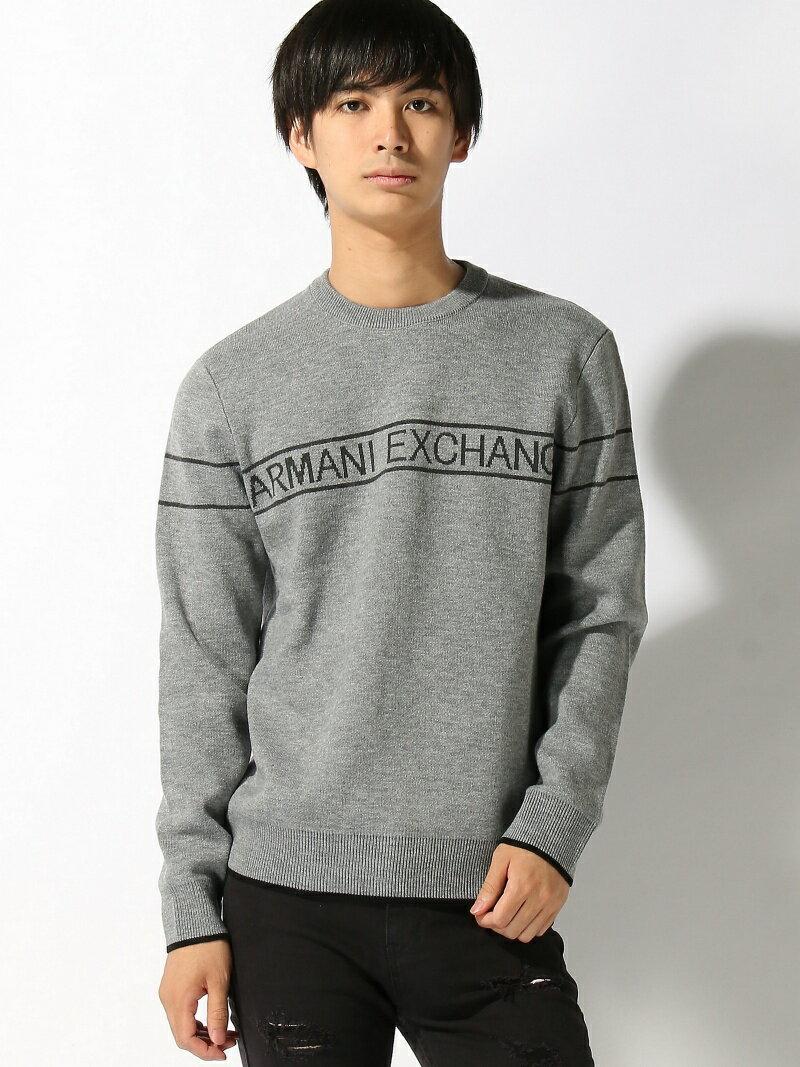 A X ARMANI EXCHANGE (M)PULLOVER A Xアルマーニ エクスチェンジ カットソー【送料無料】