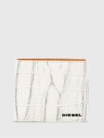 DIESEL HIRESH S ディーゼル 財布/小物 財布 ホワイト ブラック ブラウン【送料無料】