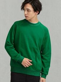 【SALE/30%OFF】UNITED ARROWS green label relaxing SC★★GLRロゴスウェットクルーLS# ユナイテッドアローズ グリーンレーベルリラクシング カットソー スウェット グレー ベージュ ネイビー【RBA_E】