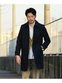 MEN'S BIGI 別注 ステンカラーコート セレクト メンズ ビギ コート/ジャケット ステンカラーコート ネイビー ベージュ【送料無料】