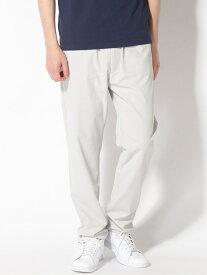 three dots Men's slim tapered pants / スリムテーパードパンツ スリードッツ パンツ/ジーンズ フルレングス グレー ブルー カーキ【送料無料】
