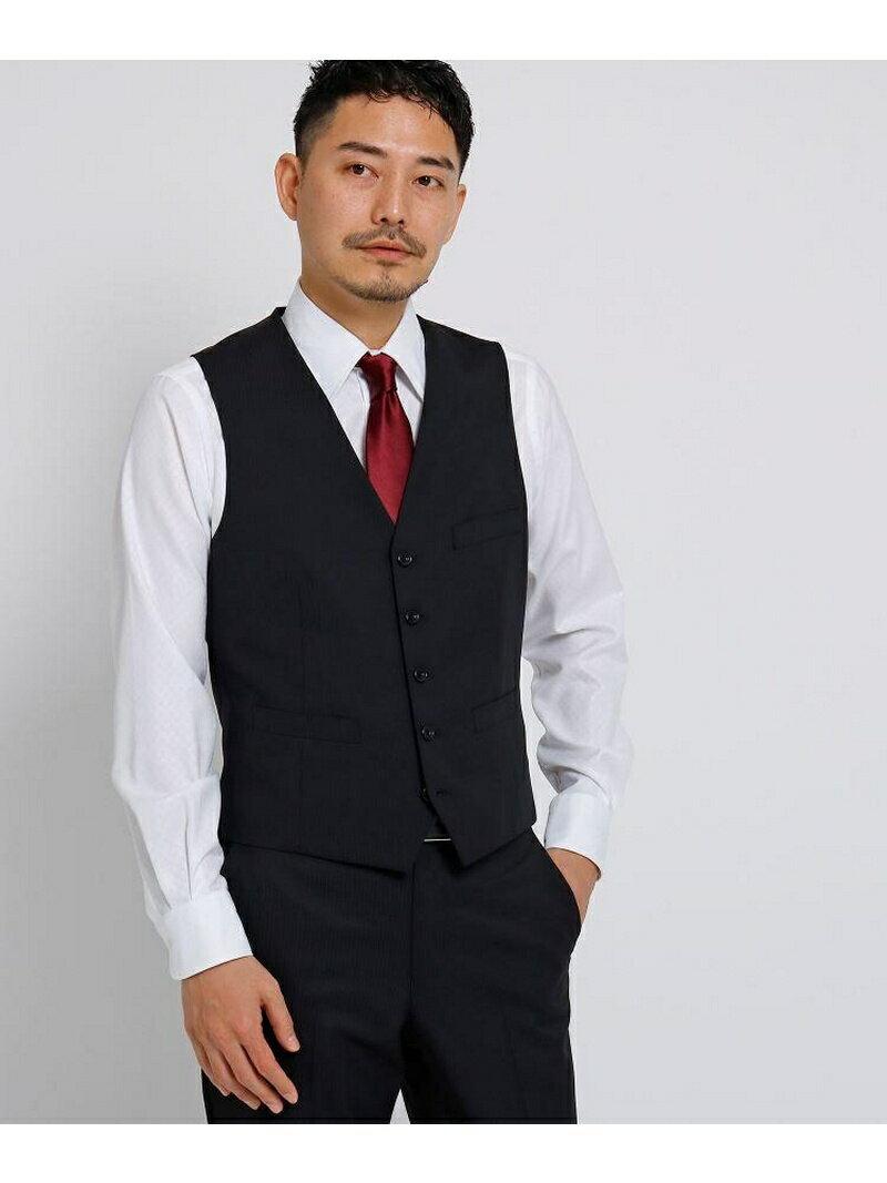 TAKEO KIKUCHI シャドーストライプベストFabric by CORDURA(R)[ メンズ スーツ セットアップ ] タケオキクチ コート/ジャケット【送料無料】