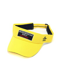 (M)シンプルロゴサンバイザー マンシングウェア 帽子/ヘア小物