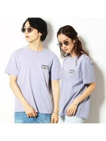 【SALE/50%OFF】Purple&Yellow 半袖 ワッペン Tシャツ コムサイズム カットソー Tシャツ パープル ホワイト ネイビー ピンク【RBA_E】