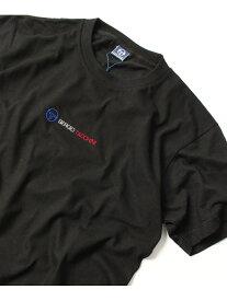 SERGIO TACCHINI SERGIO TACCHINI(セルジオ タッキーニ)/ロゴ刺繍バックプリント半袖Tシャツ ナバル カットソー【送料無料】