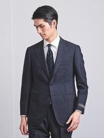 UNITED ARROWS <SOVEREIGN(ソブリン)>ウールモヘア3Bスーツ ユナイテッドアローズ ビジネス/フォーマル スーツ ネイビー グレー【送料無料】