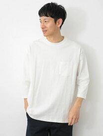 SEVENDAYS=SUNDAY Men's ヘビーウエイト7分袖Tシャツ セブンデイズサンデイ カットソー