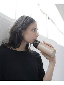 LAKOLE ワンタッチボトル350ML ラコレ 生活雑貨 水筒 ピンク ホワイト グレー ブラック