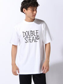 【SALE/30%OFF】DOUBLE STEAL FREE HAND LOGO Tシャツ ダブルスティール カットソー【RBA_S】【RBA_E】