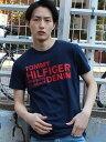 TOMMY HILFIGER (M)コットンロゴTシャツ トミーヒルフィガー【送料無料】