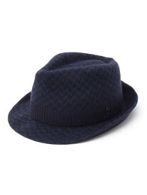 adabat ニット素材ハット アダバット 帽子/ヘア小物 ハット ネイビー グレー【送料無料】