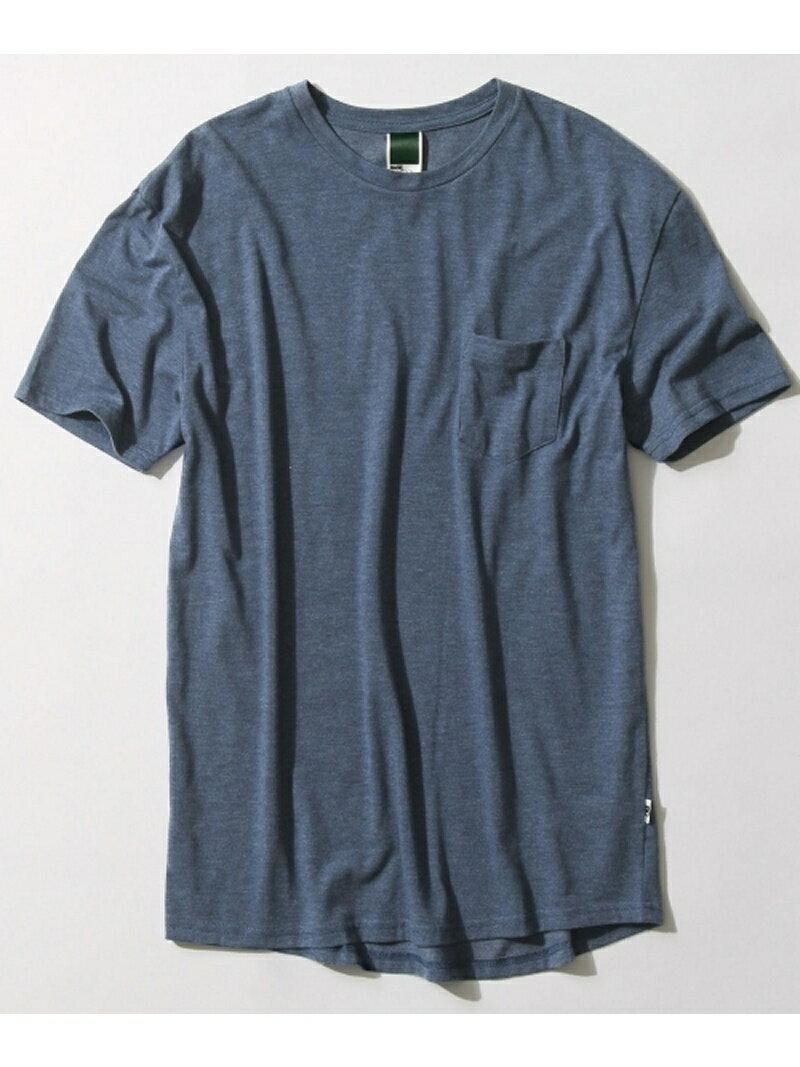 BASECONTROL 【ユニセックス】ビッグシルエット ポケットTシャツ ベース ステーション
