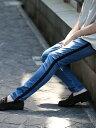 【SALE/50%OFF】BEAUTY & YOUTH UNITED ARROWS 【店舗限定】 by ベロアライン デニムパンツ ビューティ&ユース ユナ…