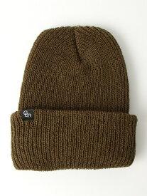 UNITED ARROWS green label relaxing SCGLRUSAビーニーキャップ/ニット帽 ユナイテッドアローズ グリーンレーベルリラクシング 帽子/ヘア小物 ニット帽/ビーニー カーキ ブラック グレー ブラウン