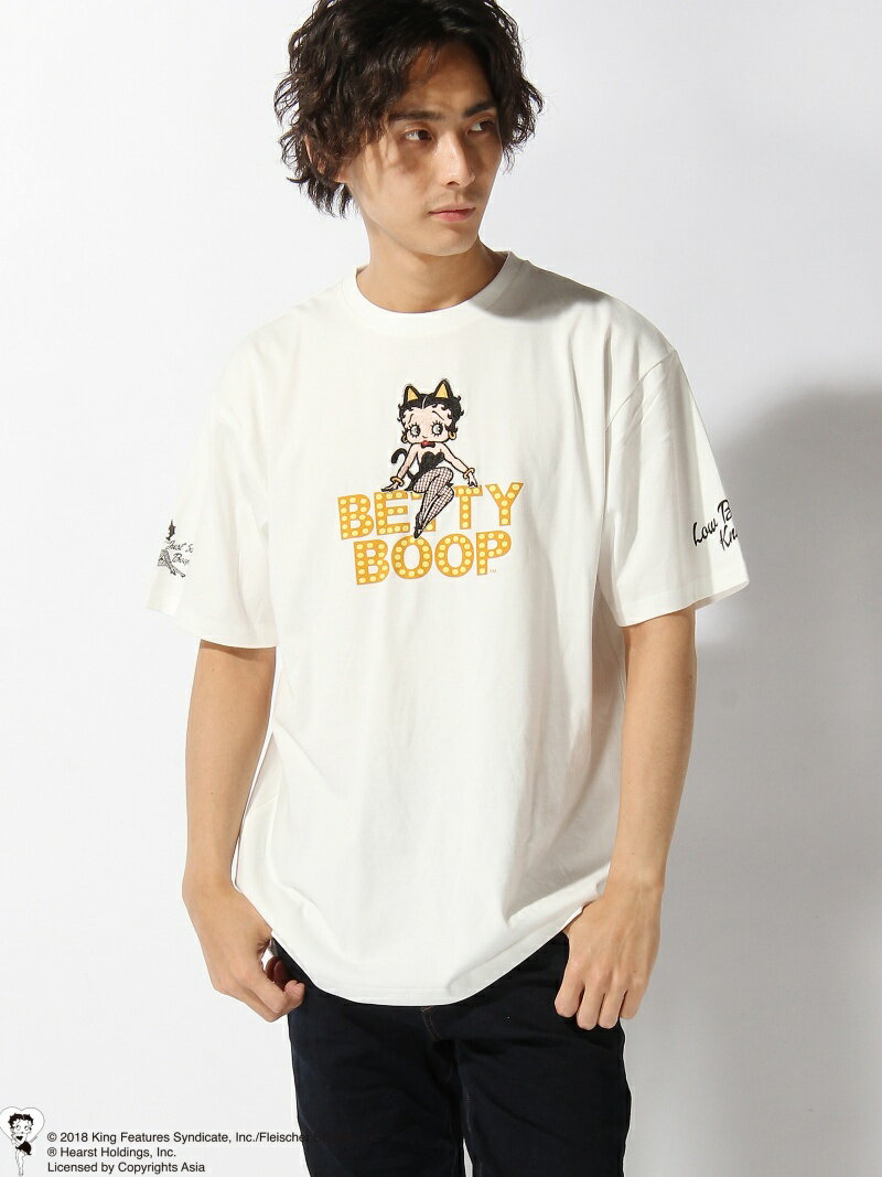 【SALE/20%OFF】LOWBLOW KNUCKLE LOWBLOW KNUCKLE/(M)ニャンコBETTY Tシャツ サンコーバザール カットソー【RBA_S】【RBA_E】【送料無料】