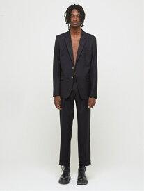 DRESSEDUNDRESSED Buttonless Blazer シーナウトウキョウ コート/ジャケット テーラードジャケット ブラック【先行予約】*【送料無料】