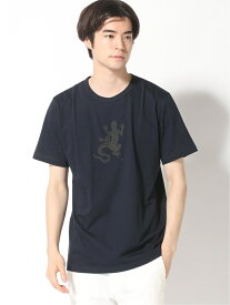 agnes b. HOMME agnes b. HOMME/(M)SF64 レザールTシャツ アニエスベー カットソー Tシャツ ネイビー【送料無料】