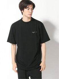 agnes b. HOMME agnes b. HOMME/(M)JEJ3 ロゴTシャツ アニエスベー カットソー Tシャツ ブラック ベージュ ネイビー【送料無料】