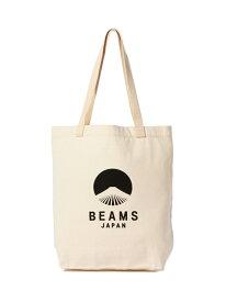 BEAMS JAPAN evergreen works×BEAMS JAPAN / ビームス ジャパン ロゴトート ビームス ジャパン ビームス ジャパン バッグ トートバッグ ブラック ネイビー レッド