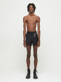 DRESSEDUNDRESSED Suit Shorts シーナウトウキョウ パンツ/ジーンズ ショートパンツ ブラック【先行予約】*【送料無料】