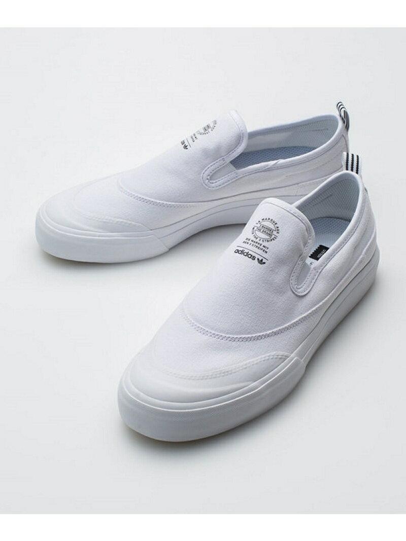 【SALE/20%OFF】adidas MACTHCOURT SLIP ナノユニバース シューズ【RBA_S】【RBA_E】【送料無料】