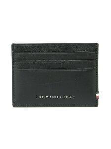 【SALE/50%OFF】TOMMY HILFIGER (M)TOMMY HILFIGER(トミーヒルフィガー) レザーカードケース トミーヒルフィガー 財布/小物 パスケース/カードケース ブラック ブラウン【RBA_E】