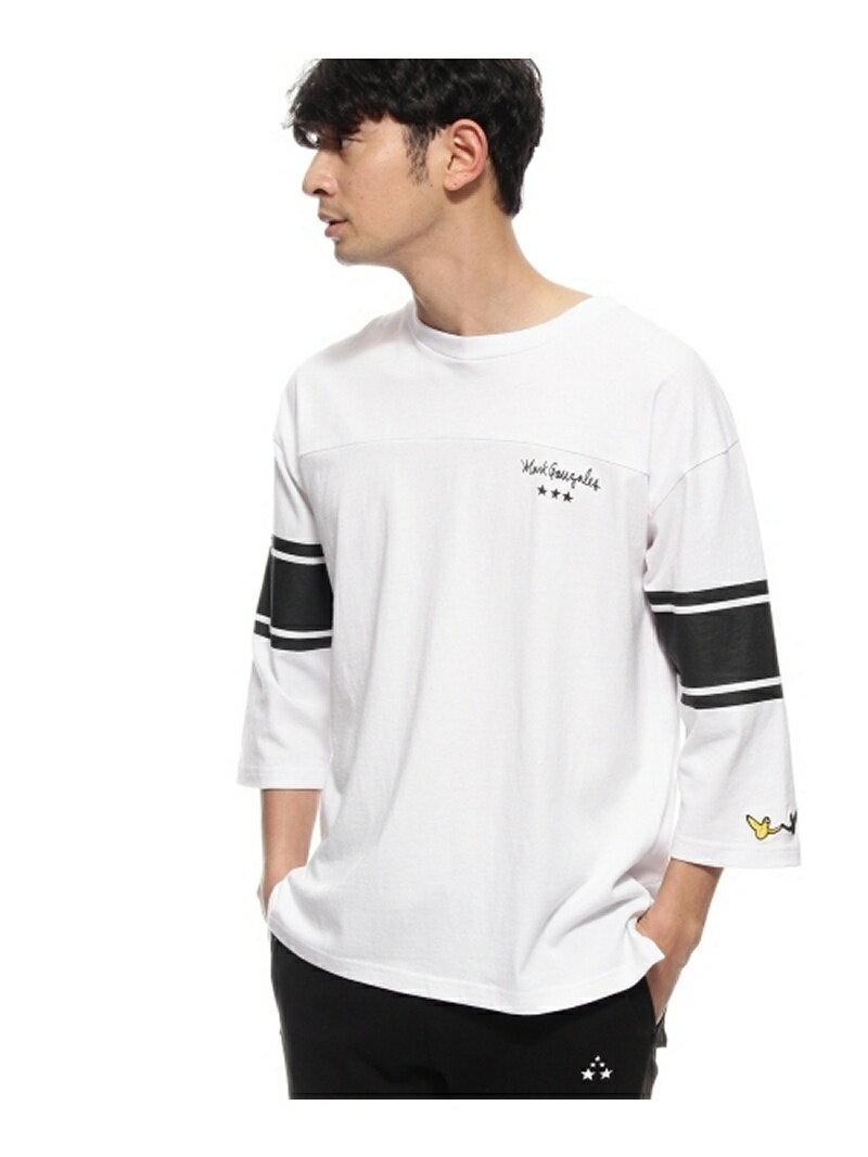 BASECONTROL MARK GONZALES別注 フットボール長袖Tシャツ ベース ステーション カットソー【送料無料】
