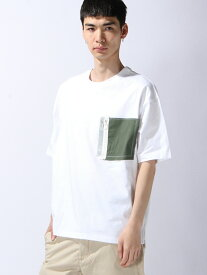 【SALE/40%OFF】SUPERTHANKS ZIP PKT BIC T-SHIRT スーパーサンクス カットソー【RBA_S】【RBA_E】【送料無料】