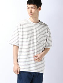 【SALE/40%OFF】SUPERTHANKS BORDER BIC T-SHIRT スーパーサンクス カットソー【RBA_S】【RBA_E】【送料無料】