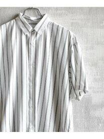 tk.TAKEO KIKUCHI マイクロスパンレジメンタルストライプシャツ ティーケータケオキクチ シャツ/ブラウス【RBA_S】【送料無料】