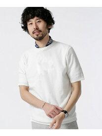 【SALE/20%OFF】nano・universe ポリ麻ニットTシャツS/S ナノユニバース カットソー【RBA_S】【RBA_E】【送料無料】