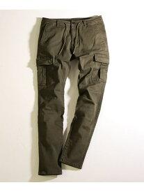MEN'S BIGI ハイパワーストレッチカーゴパンツ メンズ ビギ パンツ/ジーンズ フルレングス カーキ ブラック【送料無料】