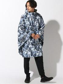43DEGREES 43DEGREES/(U)レインポンチョ フォーシーズンズデザインラボ コート/ジャケット レインコート ブルー ブラック ネイビー グレー【送料無料】