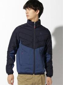 Munsingwear (M)ストレッチダウンブルゾン マンシングウェア コート/ジャケット ブルゾン ネイビー ブラック ブルー【送料無料】