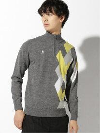 Munsingwear (M)ジップセーター マンシングウェア ニット 長袖ニット ネイビー【送料無料】