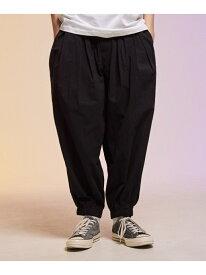 【SALE/20%OFF】rehacer Balloon Easy Pants レアセル パンツ/ジーンズ フルレングス ブラック ネイビー【RBA_E】【送料無料】