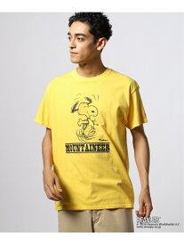 【SALE/30%OFF】KELTY KELTY PEANUTS BACKPACK T ジャーナル スタンダード カットソー Tシャツ イエロー ブラック ホワイト【RBA_E】