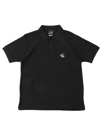 BEAMS T 【SPECIAL PRICE】BEAMS T / Skull Polo Shirt ビームスT カットソー ポロシャツ ブラック グレー【送料無料】
