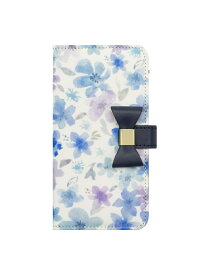 UNiCASE BLUE LABEL UNiCASE BLUE LABEL/(U)Flower Series ユニケース ファッショングッズ 携帯ケース/アクセサリー ブルー【送料無料】