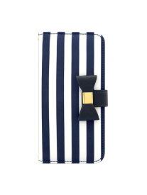 UNiCASE BLUE LABEL UNiCASE BLUE LABEL/(U)Ribbon Diary ユニケース ファッショングッズ 携帯ケース/アクセサリー ネイビー【送料無料】