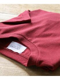 DOORS RECOVERクルーネックTシャツ アーバンリサーチドアーズ カットソー Tシャツ レッド ホワイト ブルー
