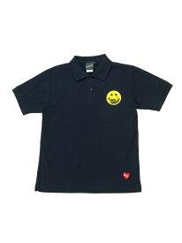 BEAMS T 【SPECIAL PRICE】BEAMS T / Scowley Polo Shirt ビームスT カットソー ポロシャツ ネイビー ホワイト【送料無料】