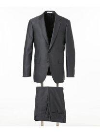 CK CALVIN KLEIN シルクプリズムドビースーツ CK カルバン・クライン ビジネス/フォーマル セットアップスーツ グレー ネイビー【送料無料】