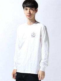 MAGIC NUMBER SURF GREMLIN L/S TEE マジックナンバー カットソー Tシャツ ホワイト ブラック【送料無料】