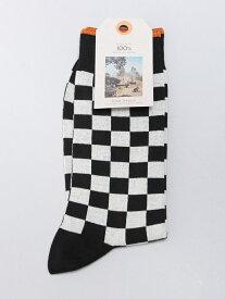 【SALE/50%OFF】nudie jeans nudie jeans/(M)Olsson_ソックス ヒーローインターナショナル マーケット プレイス ファッショングッズ ソックス/靴下 ブラック オレンジ【RBA_E】