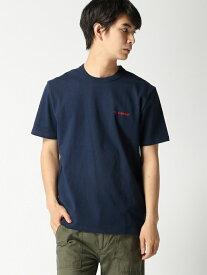 GOOD WEAR Goodwear/ロゴ刺繍Tシャツ グッドウェア カットソー