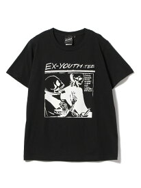 BEAMS T 【SPECIAL PRICE】BEAMS T / Ex-Youth Tee ビームスT カットソー Tシャツ ブラック ホワイト