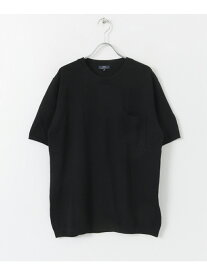 URBAN RESEARCH ITEMS UV加工ウォッシャブルニットTシャツ アーバンリサーチアイテムズ ニット【RBA_S】
